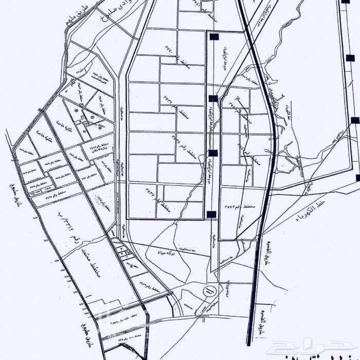 1750725 مخطط ٤٣ الغربي قطعتين متظاهرتين شارع ٢٠ شرقي و ٢٠ غربي، قيمة الواحدة ٢٥٠ الف حد.. طبيعة ممتازة