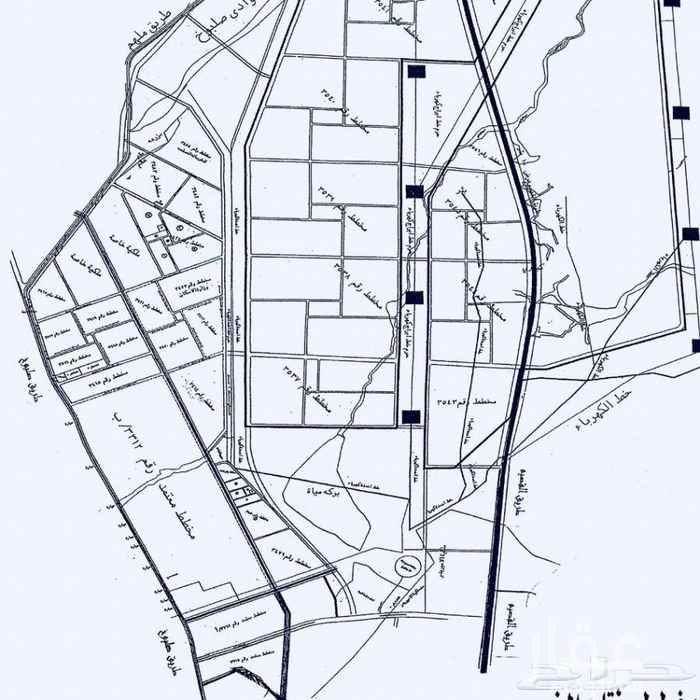 1757912 زاوية ممر في مخطط أ شارع ٣٠ وممر ١٠، الحد ٥٠٠ الف مباشر