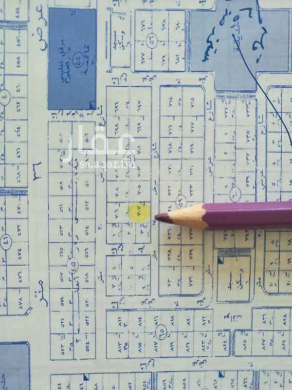 1386413 للبيع ارض في حي الفلاح الاطوال  14في 40 مساحة 560متر  السوم 2800 البيع 2900