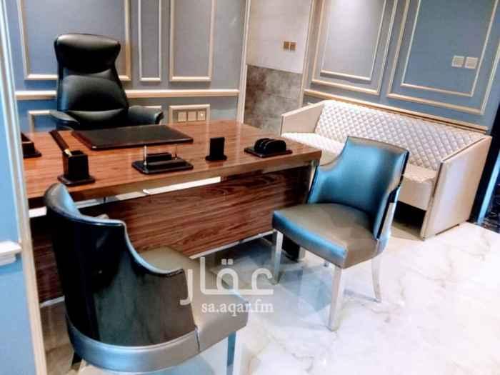 1299029 مكتب مجهز شامل الخدمات وغير مجهز للتأجير في العليا طريق الملك فهد مقابل ابراج العنود