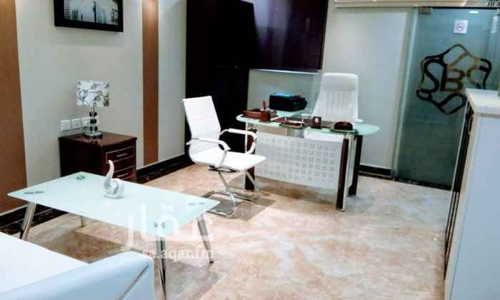 1232915 مكتب مجهز شامل الخدمات وغير مجهز للتأجير الشهري والسنوي في العليا طريق الملك فهد مقابل ابراج العنود