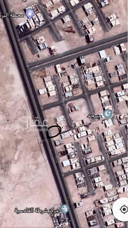 1270612 ارض تجارية على شارع اربعين وممر ٥ متر