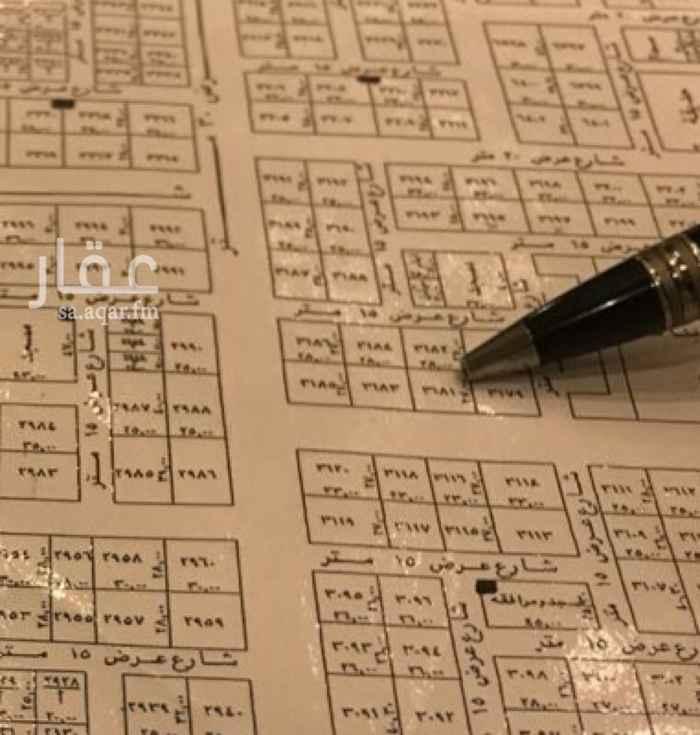 1068417 للايجار ارض على شارع ٣٠ جنوبي بحي العارض