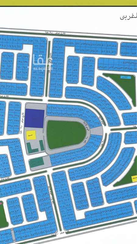 1533456 للبيع ارض في مخطط المنتزه الغربي مساحه ٥٢٥متر شارع ٢٠ شرقي موقع ممتاز وقريب من الخدمات ومسجد مطلوب ٦٥٠ قابل للتفاوض
