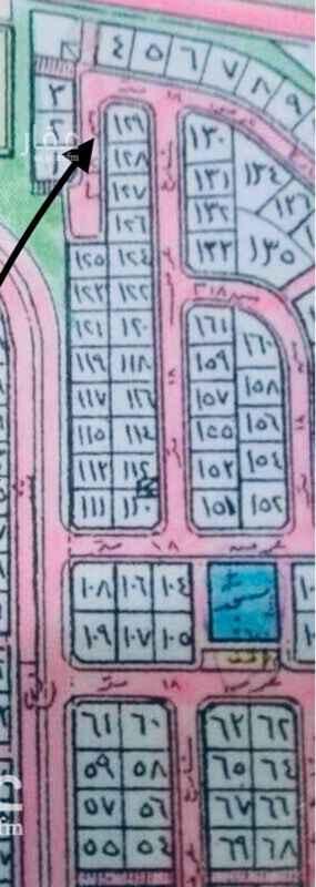 1662986 للبـــيــٰع ارض على ٣ شوارع راس بلك   مساحتها 561 من الشمال ١٨ من الجنوب ١٨ من الشرق ١٨  ف الحي ١٦/٩ قريبه من شارع الملك فهد.   (طريق المطار) (الارض مرصوصه وجاهزه للبنيان)