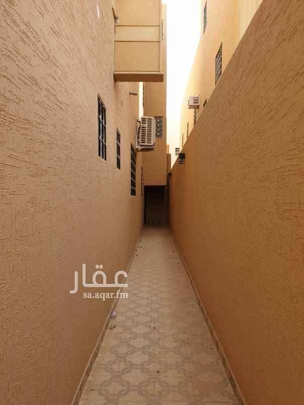 1450233 شقة جديدة تشطيب فاخر مدخل + ثلاث غرف صالة + مدخل خاص+ عداد مستقل + سطح فوق الشقة + موقف خاص للمستأجر