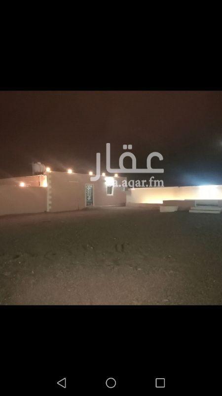 1331569 استراحه للبيع مؤثثه في بيار الماشي  يوجد عداد كهرباء وهي مكونه من قسمين