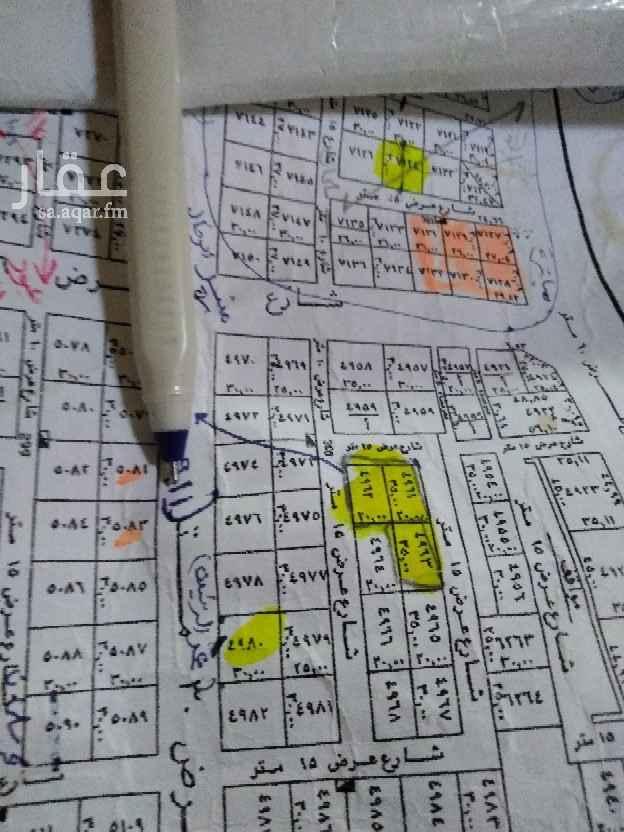 1810105 للبيع قطعتين تجارية في حي النرجس الكيلو السادس الشرقي مساختهم 1800 مباشرة