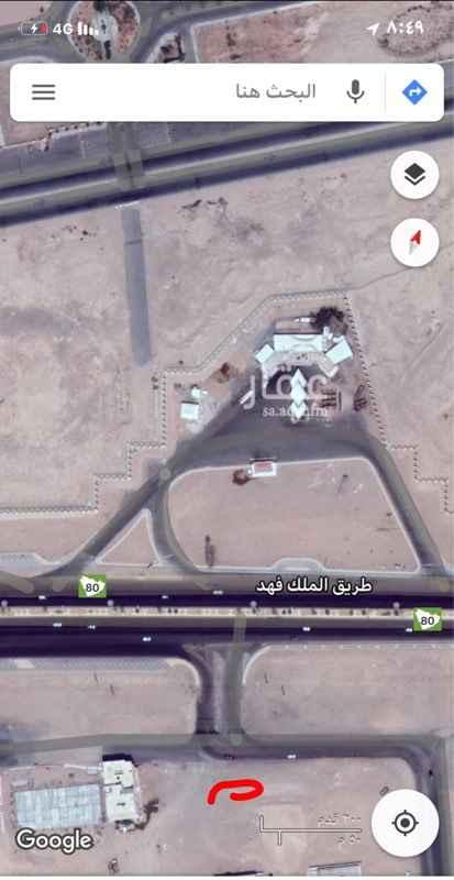 1278406 ارض تجاريه في حي الشفاء الواجهه على جامعة تبوك شمالا على طريق الملك فهد