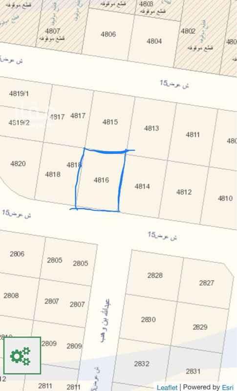 1456211 للبيع ارض ٤٥٠ م في المهدية ( عويصة) الاطوال : ١٨م على الشارع في عمق ٢٥م  على السوم