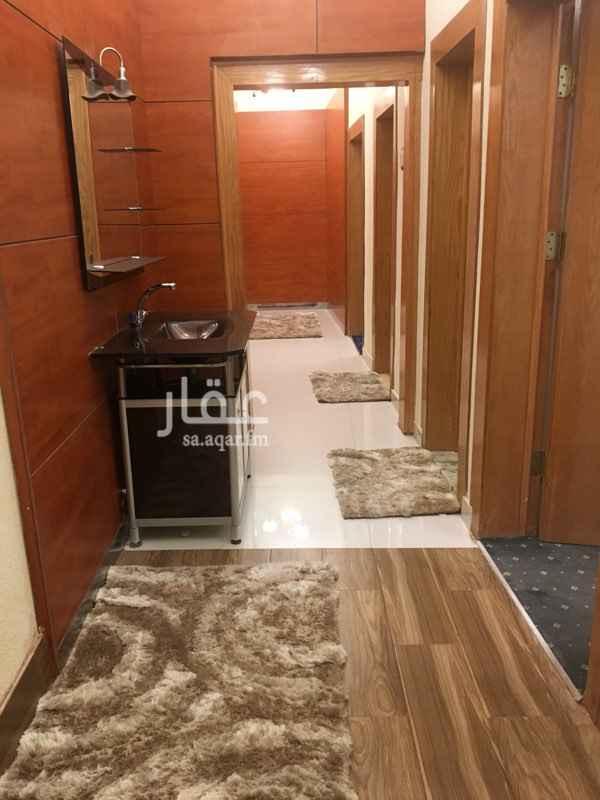 1672449 مدخل مستقل مجلس مؤثث مقلط غرفة جلوس  غرفة نوم مطبخ  مؤثث بالكامل 2 حمام  افرنجي وعربي  الدور مؤثث بالكامل واثاث جديد يمكن التواصل على رقم 0561177144