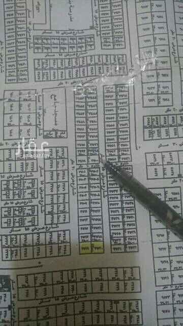 1733732 ارض سكنيه حي الامانه شماليه شارع ١٥  المساحه ٤٢٥ م سعر المتر ١٨٠٠ على شور الاطوال ١٧* ٢٥ عمق  رقم القطعه ٣٤٩٨