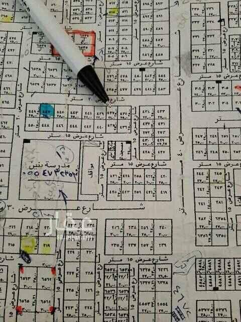 1755407 👆للبيع ارض بالعارض مساحه ٥٢٥م شارع ٢٠شمالي الاطوال ٢١×٢٥ السوم ٢٠٠٠للمتر البيع ٢١٠٠  بدون الضريبة  قطعه رقم ٤٣٧