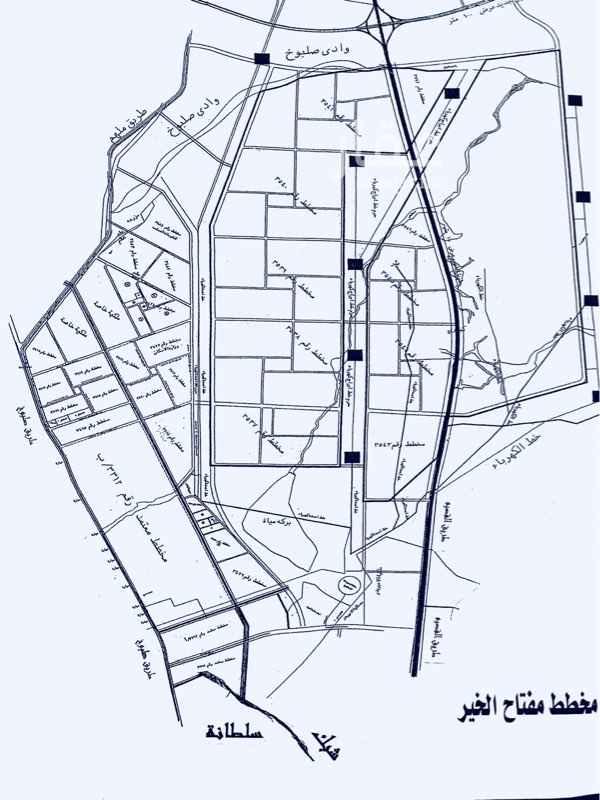 1745324 مخطط الخير 3312/ب مساحة 455 م  شارع 15 شرق  الكهرباء متوفر  صك شرعي  منطقة استراحات البيع 220 الف على الشور