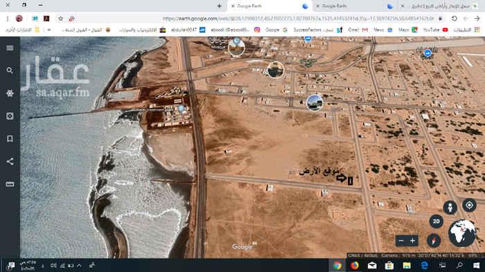 1592451 واجهه جنوبية + رحبة متصله بطول ٢٠ متر   المساحة 600  شارع  تجاري 32   بصك شرعي   للبيع أو الأستثمار طويل الأجل   تبعد 500 متر عن الكورنيش الليث
