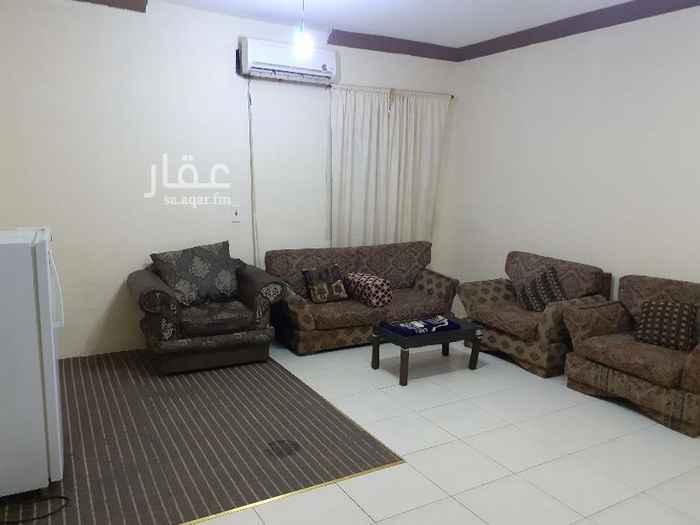 1745481 شقة مفروشة بحي الملك فيصل .. شارع أبي سعيد الخدري (الكهربا) الإيجار شامل المياه والكهرباء والإنترنت يوجد حارس بالعماره