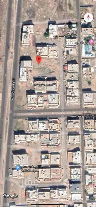 1816094 حوددها واطوالها كتالي :  شمالا: شارع عرض 6م       بطول (30)متر  جنوباً: مواقف سيارات       بطول (30)متر  شرقاً: شارع عرض 4م        بطول (19)متر  غرباً : قطعه رقم 143        بطول (19)متر