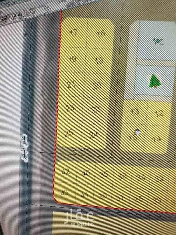1749764 للبيع ارض زاويه في مخطط ٧٧٧ مقابل القصر مساحه ٦٠٢ متر شارع ٤٠غرب و٢٠ شمال السعر ٤٤٠ ألف  الأطوال ٢٥ ×٢٥ ملحوظه الارض يوجد فيها نصف غرفه كهرباء الموقع فوق الممتاز