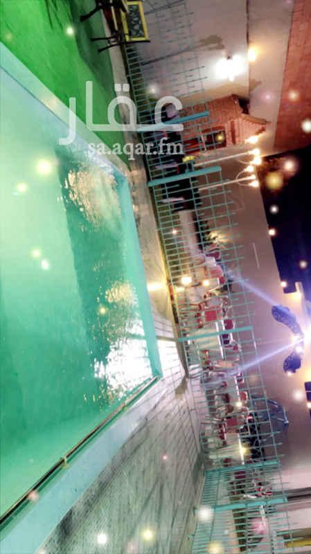 1692688 استراحة للايجار  النوارية مخطط زمزم  مسبح وبيت شعر  ومجالس  ومطبخ ودورات مياه   طاولات وكراسي حسب الطلب  للحجز ابو سطام ..  0551955338