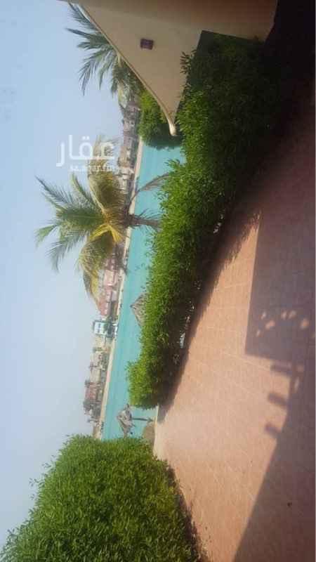 1230559 شاليه فاخر  على البحر مباشرة للايجار اليومي ( دور ارضي ) - شاطئ رملي - منطقة العاب للاطفال