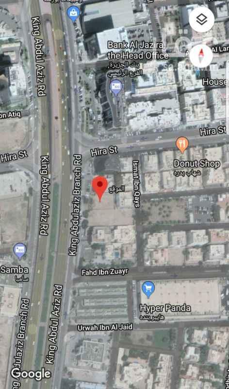 1258240 فرصه ارض للاستثمار مساحتها 851 من المالك مباشره موقعها على طريق الملك بجانب بنك الجزيره للتواصل مع المالك 0545563999