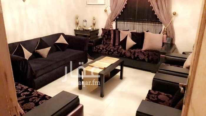 1349870 شقة للايجار مع الاثاث يتكون من عدد 3 صوالين و صالة طعام و2 غرفة نوم و مطبخ راكب قيمة الاثاث 10000 ريال نهائي