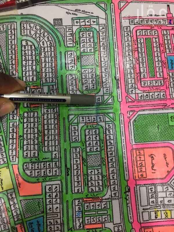 1507406 ارض للبيع في ضاحية الملك فهد بالدمام الحي الثاني المجاورة الثالثة مساحة ٥٢٥ متر  شارع ٢٤ شمال  نافذ شرق وشارع ٤٠ جنوب