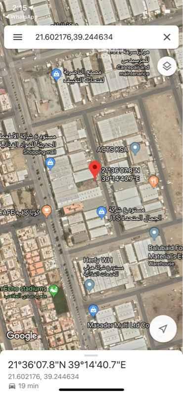 1744773 موقع الارض حي المنار/ 5 مخطط رقم 190/ ب رقم القطعة/ 113 شارع 25م شرقي الاضلاع / شرقاً بطول 20م * عمق 46.50م المساحة/ 930م  إحداثيات الموقع/ Dropped Pin near Unnamed Road, Al-Manar, Jeddah 23462