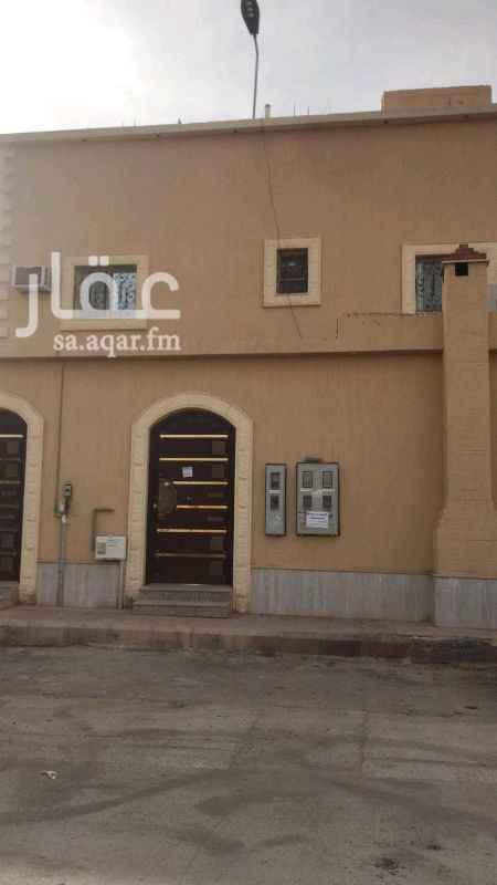 1343445 شقه ٤ غرف وصاله ودورتين مياه ومطبخ في حي الموسى غرب الرياض  معها سطح