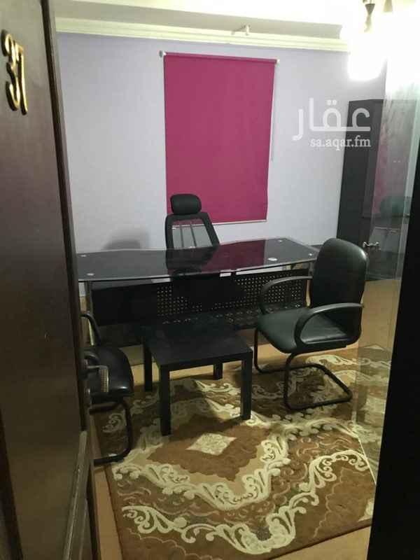 1458610 مكاتب مؤثثه للايجار الشهري في شمال جده حي النعيم خلف سوق جرير مول  جوال او واتساب 0560904050