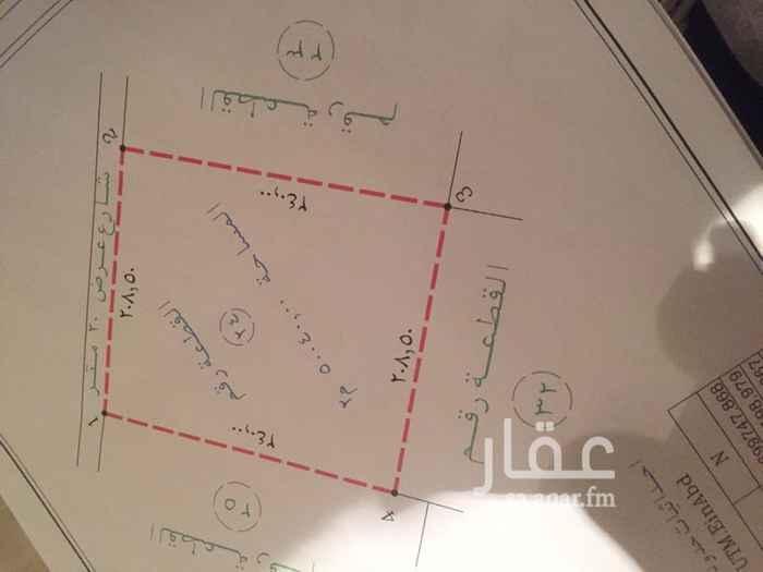 1417823 ارض صناعية بمخطط الحمزة بعد التفتيش بأربعه كيلو تقريبا