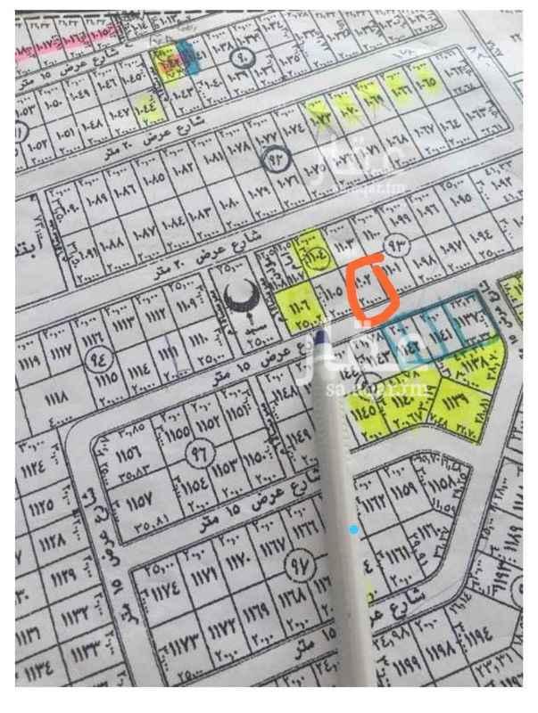 1113314 للبيع قطعه ارض ٦٠٠م بجوهره القيروان جنوبيه شارع ١٥ اطوال ٢٠*في ٣٠ رقم القطعه ١١٠٢ سوم 1450 بيع قريب