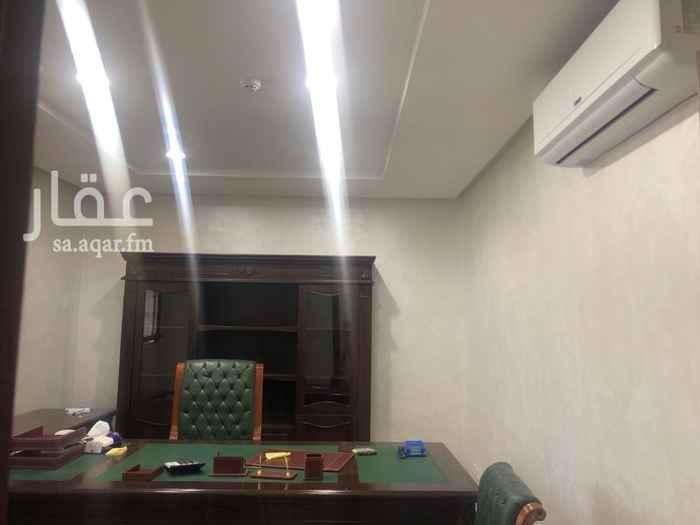 1638944 مكتب للإيجار مئثث بالكامل غرفتين وصالة ومطبخ دورة مياه قابل للتفاوض  للأستفسار  0567077597