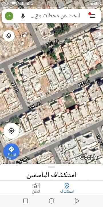 1486572 للبيع ارض سكنيه بحي الياسمين مربع ١٨ مساحه ٣٦٢،٥ م  جنوبي شارع ١٥  الاطوال ١٢،٥×٢٩ عمق  الارض بدون عيوب  البيع ٢٣٠٠ للمتر علي شور