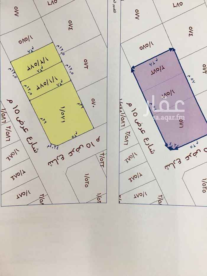 1463736 للبيع قطعتين ارض سكني في القيراون مخطط الدارالمساحة ٣٥٠متر كل قطعة الوجه جنوبي شارع ١٥ الأطول   *٥ ١٢  في عمق ٢٨   السعر ٢٥٠٠للمتر شامل الضريبة