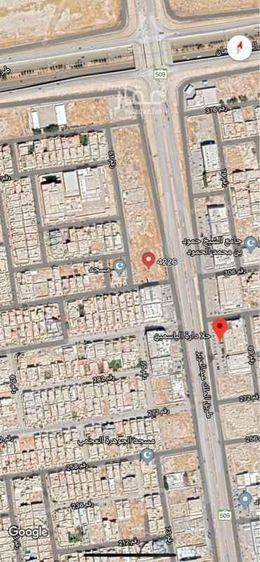 1536472 ارس بلك  تجاري حي الياسمين مربع ١٠ على طريق الملك  شارع ٦٠ شارع ١٥ جنوب  شارع ١٥ غربي  المساحه ٤٨٧٢ الطوال ٨٧×٥٦  على السوم 🔴🔴🔴