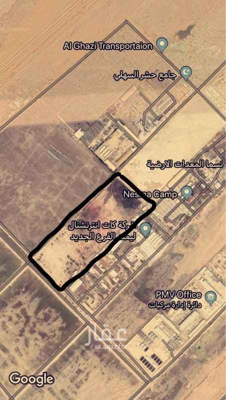 1664832 ارض صناعية مميزه وموقع ممتاز للإيجار مساحة ١٤٠٠٠ مترمربع تصلح للمصانع او مستودعات او تخزين