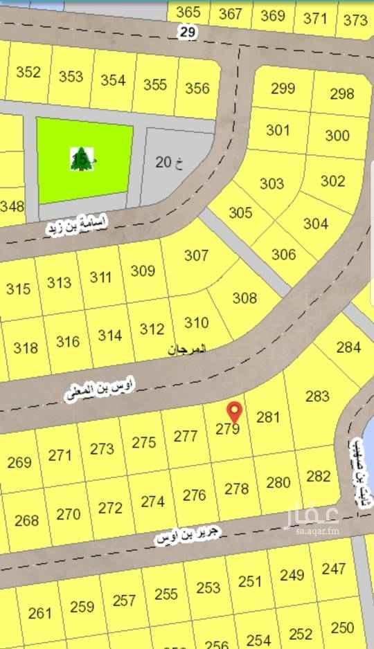 1542624 للبيع ارض في عزيزية الخبر مخطط المرجان ٢/٢٠٩ حرف ب رقم ٢٧٩  شارع ٣٠ شمال  مساحه ٨٩٨ متر  السعر ٣١٠ الف   للتواصل والاستفسار ابو ناصر