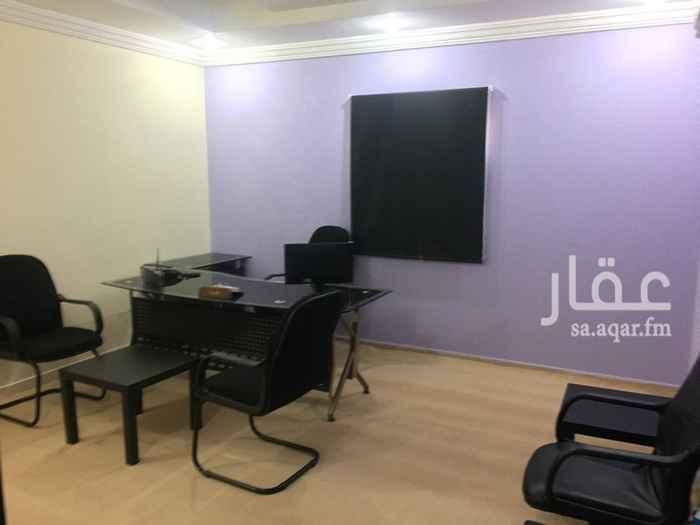 1499003 مكاتب مؤثثة للإيجار الشهري في شمال جده حي النعيم خلف جرير مول