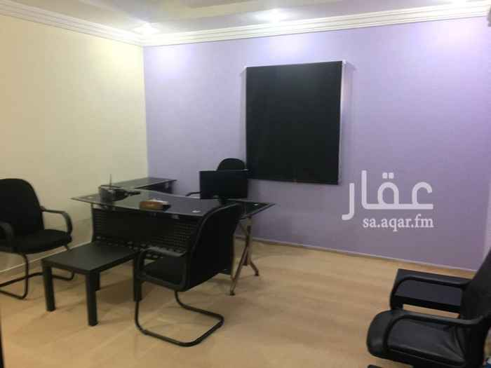 1499920 مكاتب مؤثثة للإيجار الشهري في جده حي النعيم خلف جرير مول