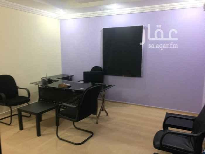 1505602 مكاتب مؤثثه للإيجار الشهري في جده حي النعيم خلف سوق جرير مول