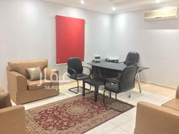 1506449 مكاتب مؤثثة للإيجار الشهري في جده حي النعيم خلف جرير مول للتواصل 0567576000