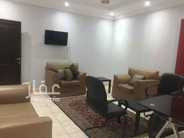 1511380 مكاتب مؤثثه للايجار الشهري في جده حي النعيم شارع آمنه بنت وهب .