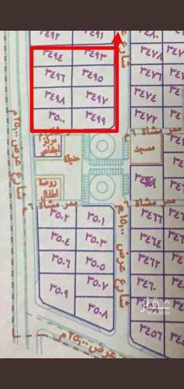 1585157 مخطط البوابه 3   8 قطع   سكنيه مساحة كل قطعه 780 تقريبا متر مجموع   المساحه الاجماليه 6250م الان المطلوب 5مليون فقط فرصه