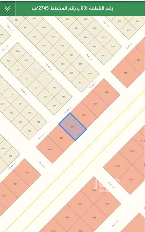 1582434 البيع تجارية في حي عريض    المخطط ٢٧٤٥/ب   القطعة ٦٣١  المساحة ٩٠٠  شارع ٦٠جنوب + ١٥  السوم ٥٥٠الف  الحد قريب   العرض مباشر      التواصل  ٠٥٦٨٣٣٩٦٩٥