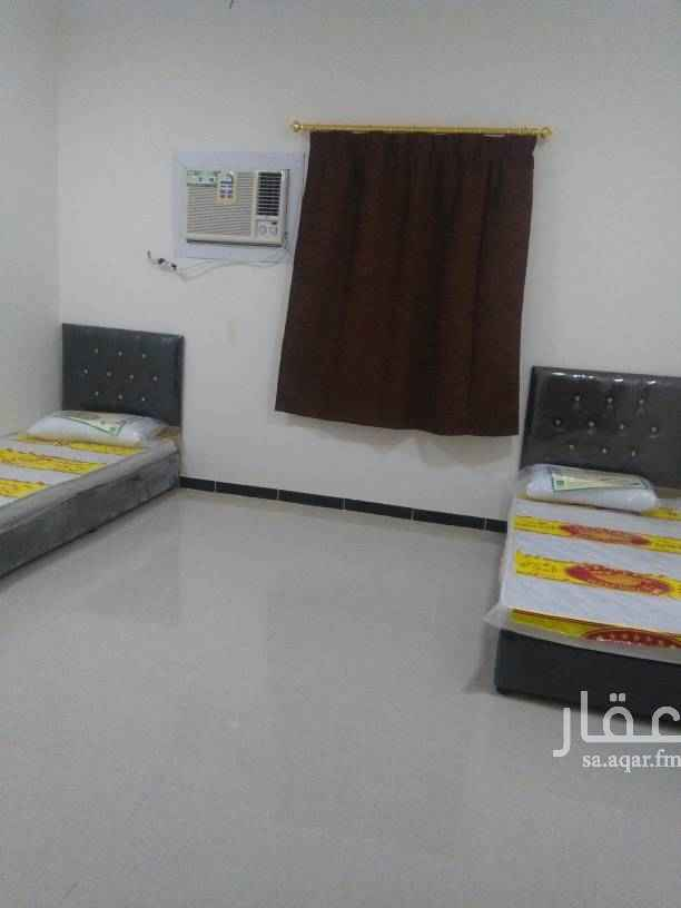 1754578 غرفتين وصاله مفروش عزاب شامل مياه والكهرباء والخدمات