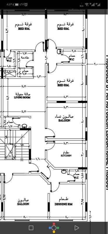 1776376 حياكم الله اخواني الكرام  مشروع الشمري  حي الواحة مخطط الفهد شقه نصف دور تتكون الشقة من،. ست غرف اربع حمامات مطبخ صالة مدخلين موقف خاص مصعد غرفة غسيل غرفة سائق  غرفه خادمه  ضمان سنتين على السباكة والكهرباء ضمان المبنى ١٥سنة مساحة الشقة ٢١٠متر مربع المطلوب ٧٢٠الف ريال فقط لا غير.