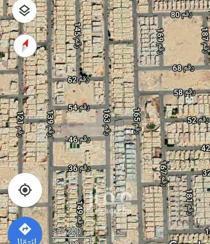 1335447 للبيع ارض سكنيه مربع ١٦  مساحه ٨٤٠متر  الاطوال   ٢٨ ×٣٠  زاويه شرقيه شارع ١٥ شماليه شارع ١٤ البيع ٢٦٠٠ للمتر ان شاء الله الموقع غير دقيق