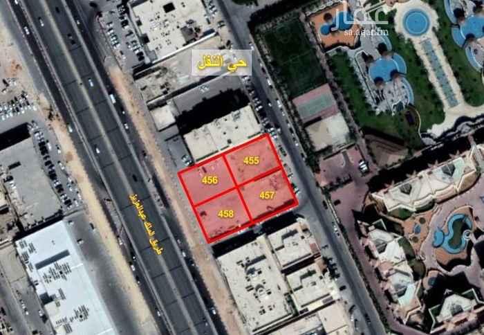 1456604 فرصة استثمارية للايجار بعقد طويل الاجل  ارض تجاري مكتبي بحي النفل على طريق الملك عبدالعزيز  المساحة : 3,500 م2 على ثلاثة شوارع غرباً : طريق الملك عبدالعزيز للمفاهمة نرجو التواصل