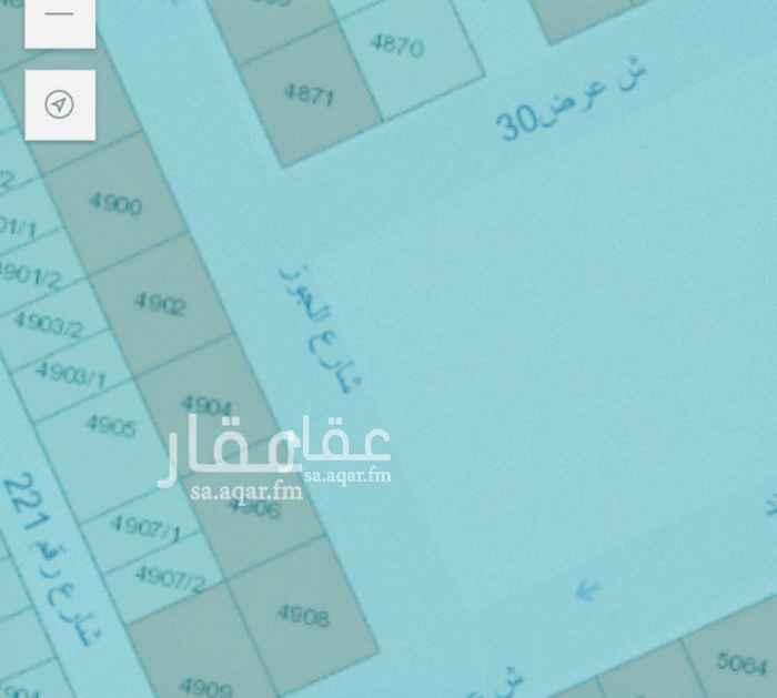 1527307 ارض للبيع حي لبن شارع 30 تجاري سكني و واجهه شرقيه مناسبه جدا للاستثمار الناجح تتميز بمسطح ممتاز جدا وجاهز للبناء قطعه - رقم 4904